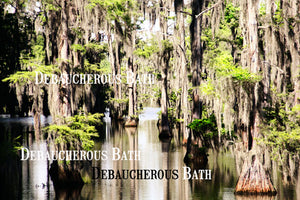 Bayou Blue Whipped Soap - Debaucherous Bath