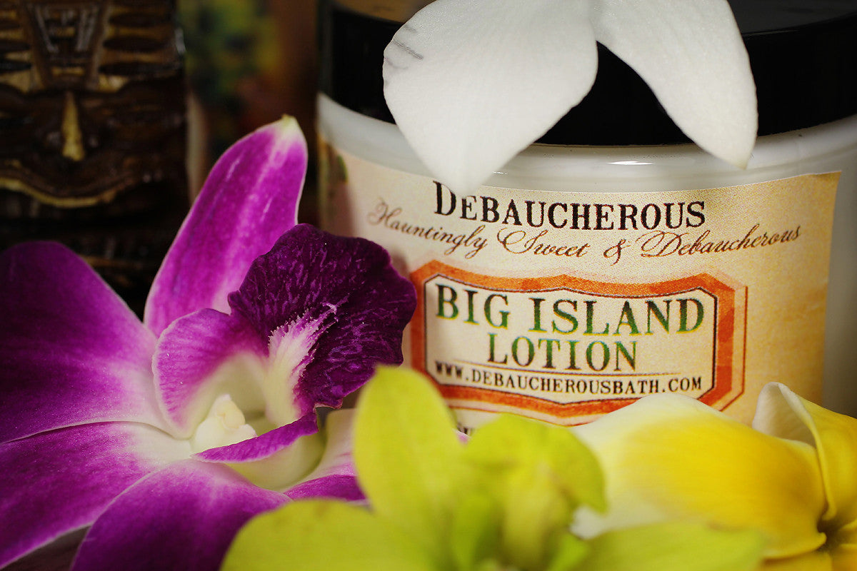 Big Island Lotion - Debaucherous Bath