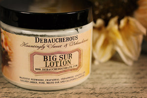 Big Sur Lotion - Debaucherous Bath