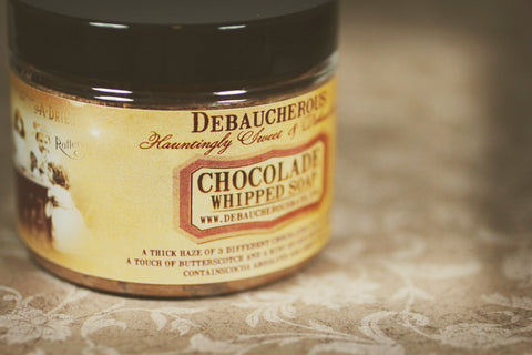Chocolade Whipped Soap - Debaucherous Bath