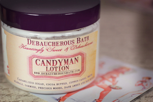 Candyman Lotion - Debaucherous Bath