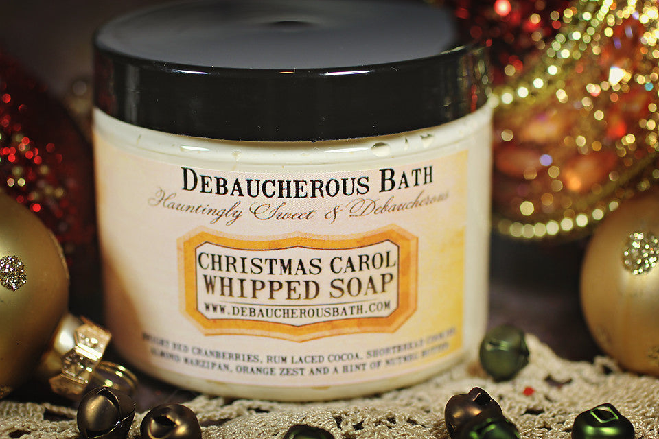 Christmas Carol Whipped Soap
