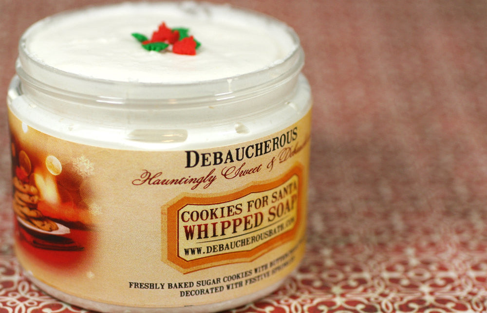 Cookies For Santa Whipped Soap