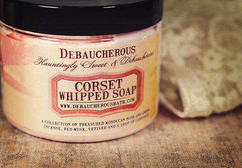 Corset Whipped Soap - Debaucherous Bath