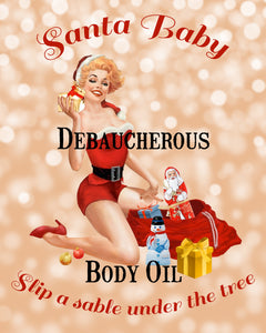 Debaucherous Body Oil~Christmastide