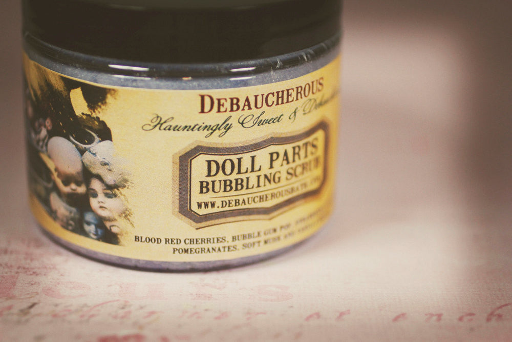 Doll Parts Bubbling Scrub