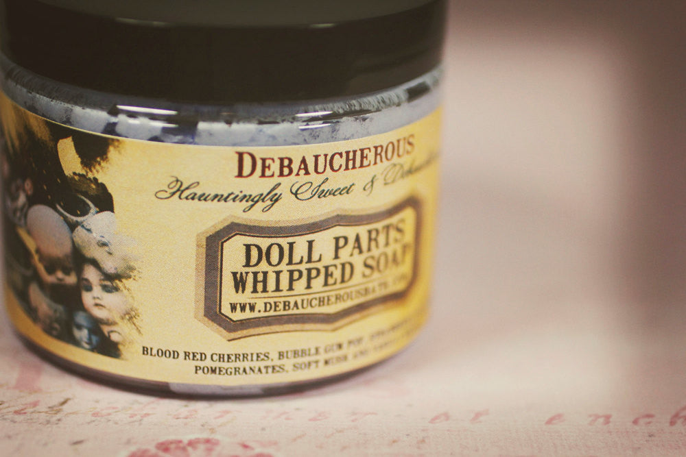 Doll Parts Whipped Soap