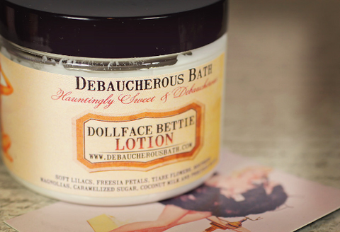 Dollface Bettie Lotion