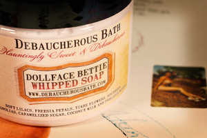 Dollface Bettie Whipped Soap