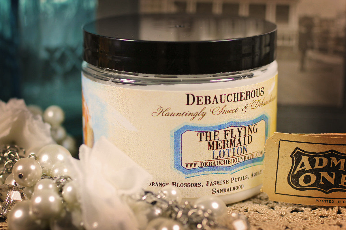 Flying Mermaid Lotion - Debaucherous Bath