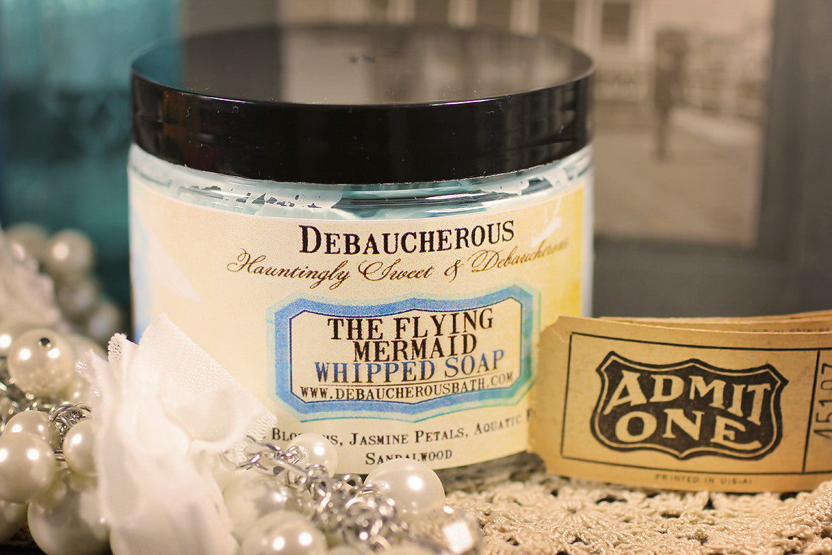 Flying Mermaid Whipped Soap - Debaucherous Bath