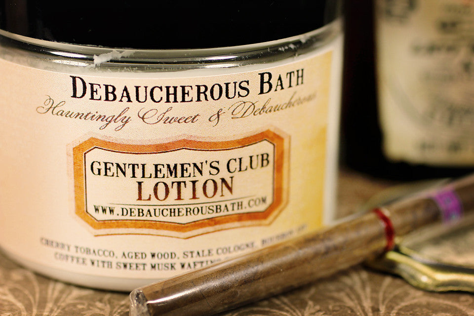 Gentlemen's Club Lotion - Debaucherous Bath