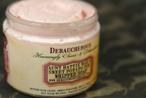 Aunt Hattie Mae's Sweet Potato Pie Whipped Soap