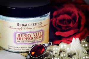 Henry VIII Whipped Soap