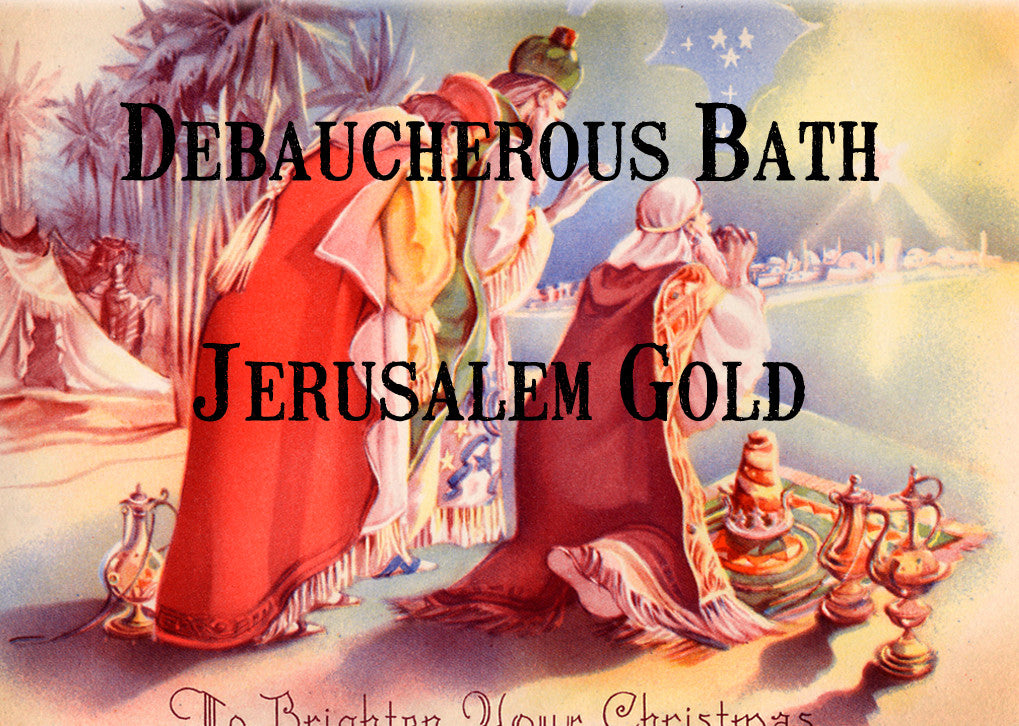Jerusalem Gold Whipped Soap