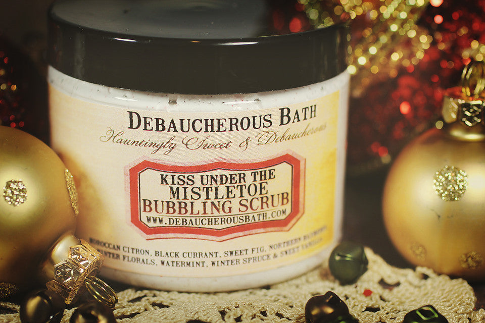 Kiss Under The Mistletoe Bubbling Scrub