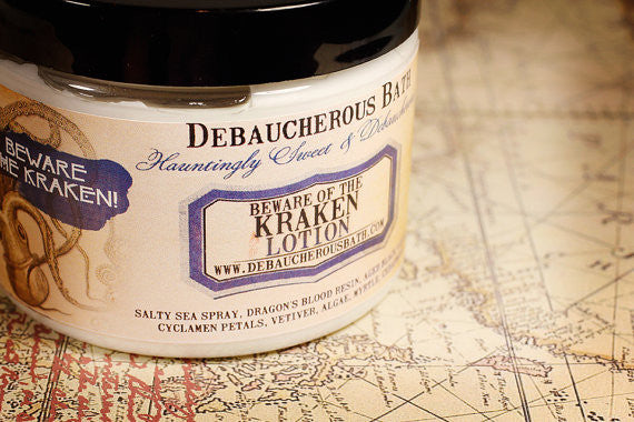 Beware of the Kraken Lotion - Debaucherous Bath