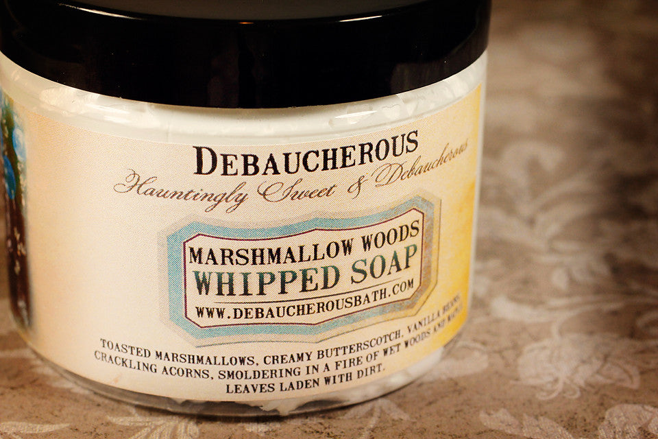 Marshmallow Woods Whipped Soap