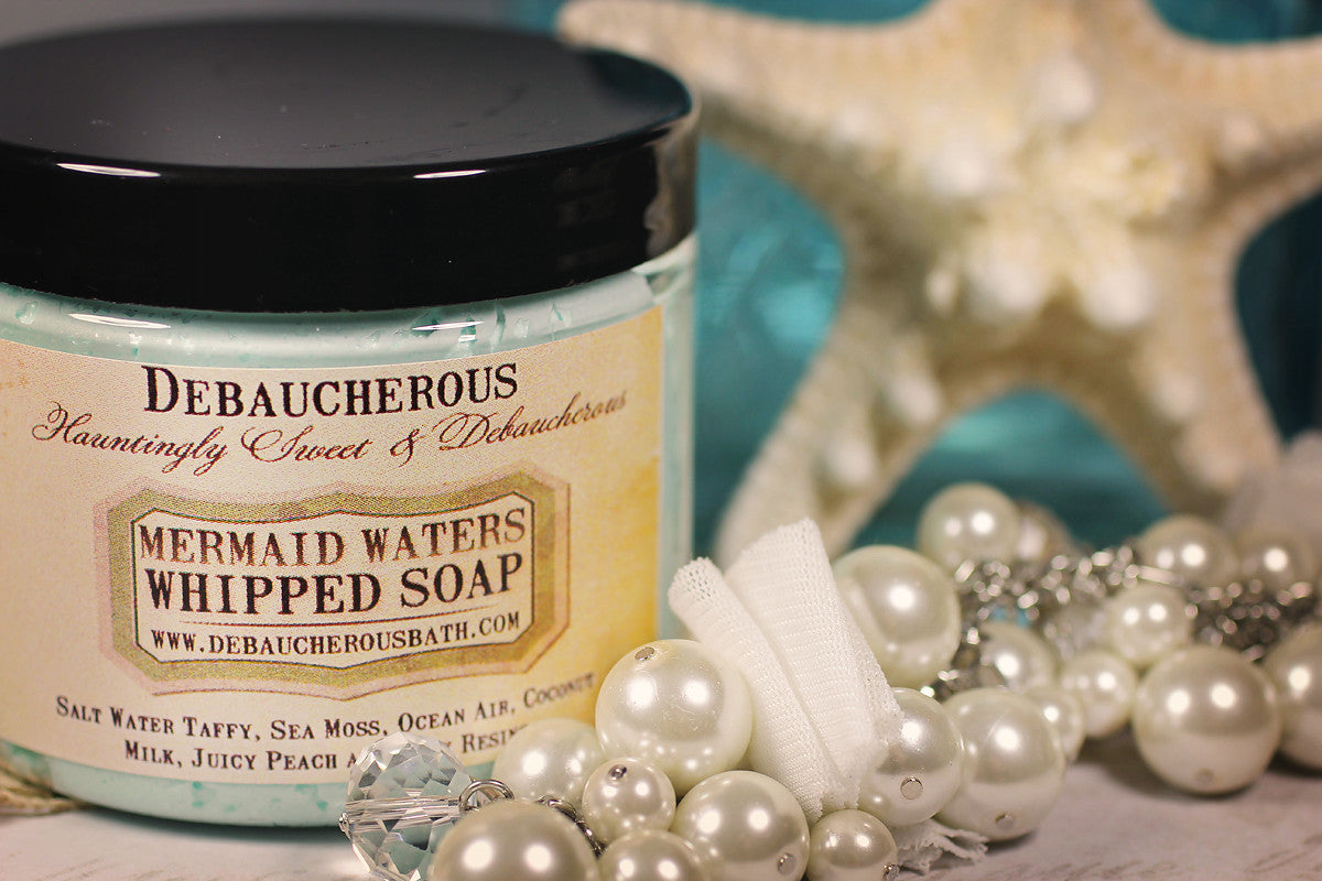 Mermaid Waters Whipped Soap