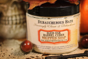 Aged Oak Barrel Cider Whipped Soap
