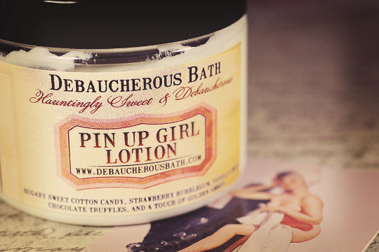 Pin Up Girl Lotion