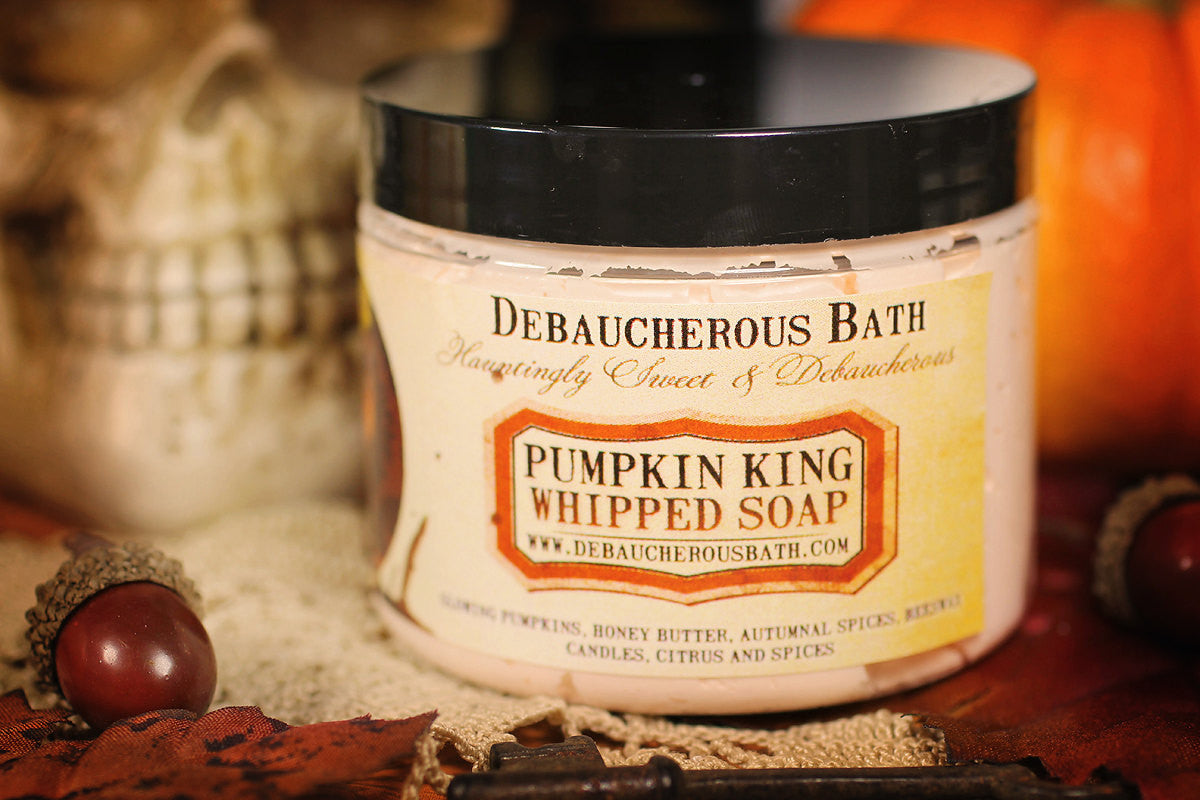Pumpkin King Whipped Soap