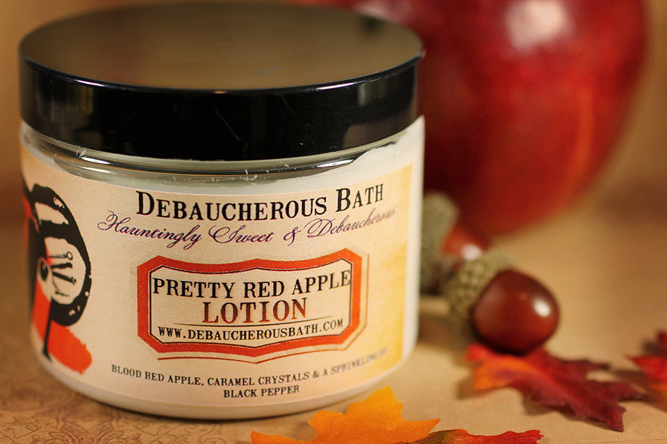 Pretty Red Apple Lotion