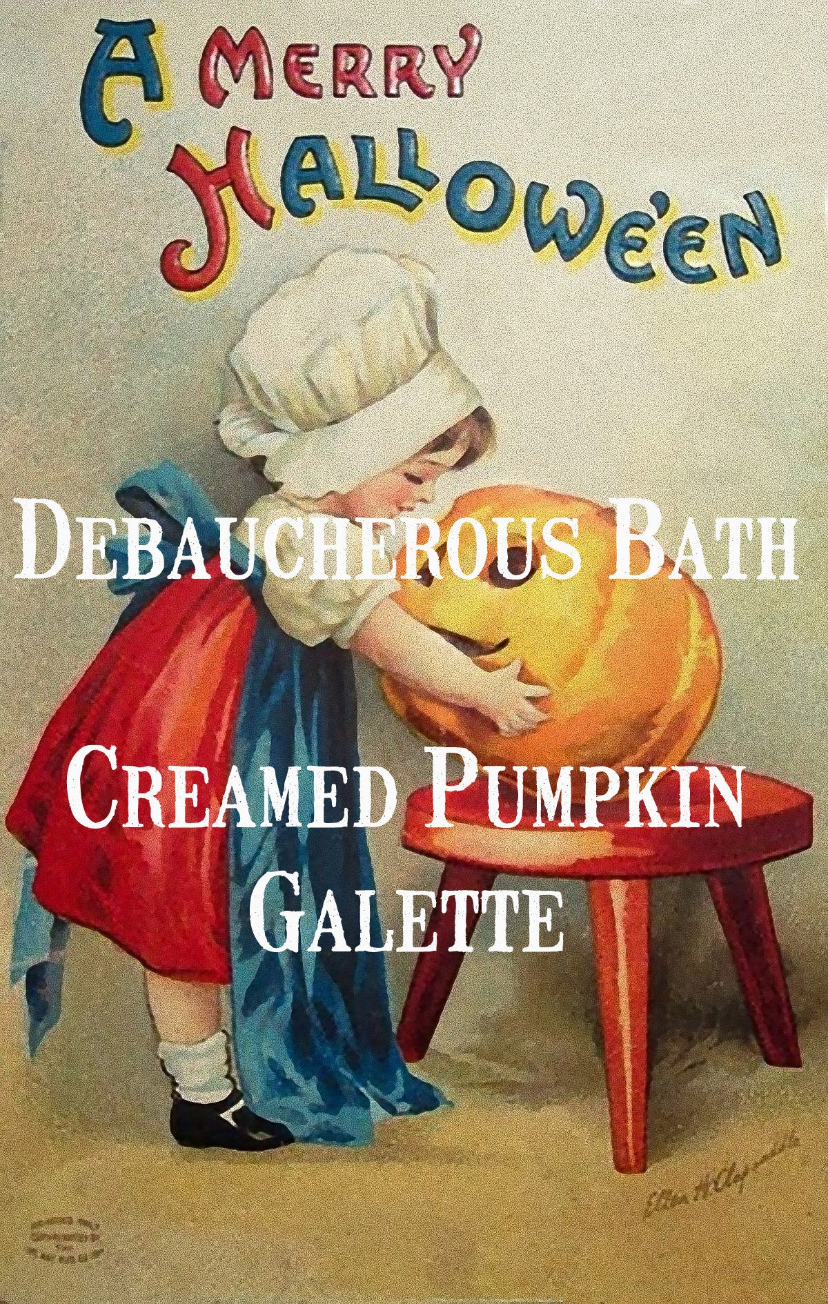 Creamed Pumpkin Galette Whipped Soap