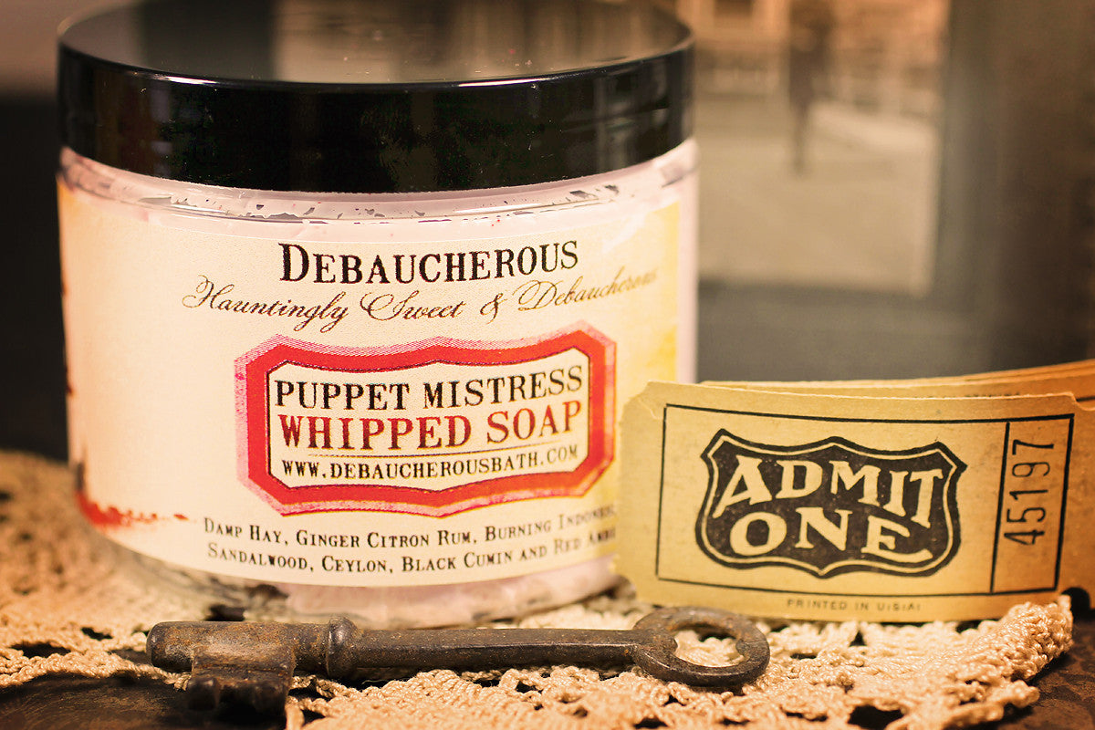 Puppet Mistress Whipped Soap