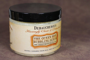 Queen Bee Bubbling Scrub