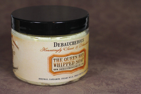 Queen Bee Whipped Soap