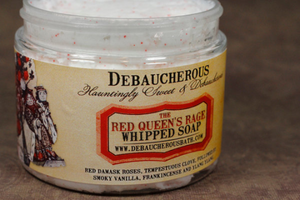 The Red Queens Rage Whipped Soap