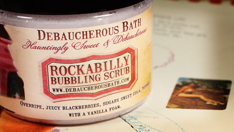 Rockabilly Bubbling Scrub