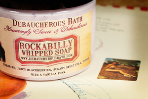 Rockabilly Whipped Soap
