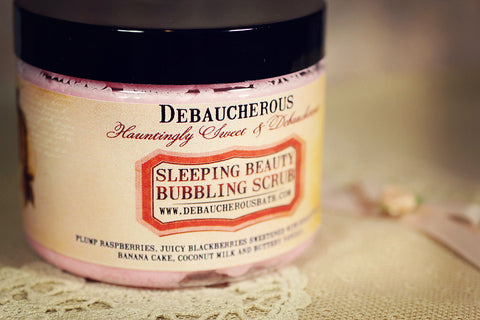 Sleeping Beauty Bubbling Scrub