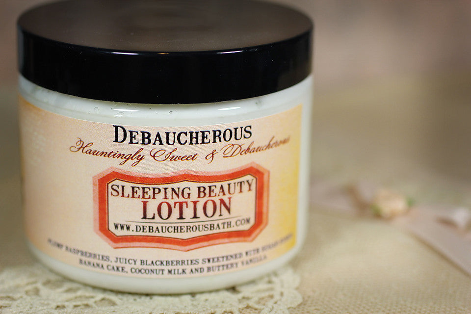 Sleeping Beauty Lotion