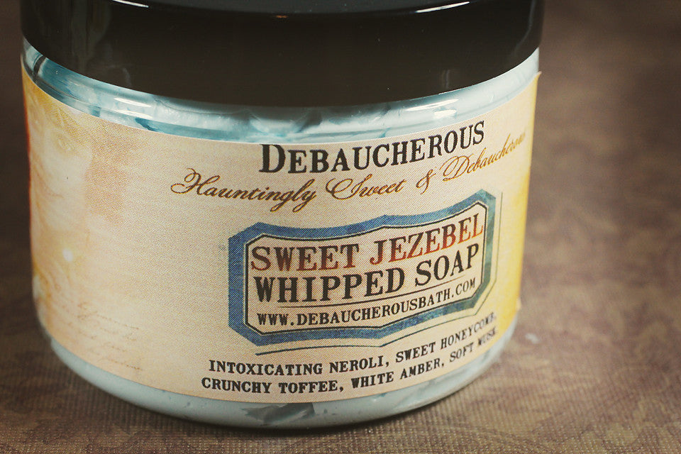 Sweet Jezebel Whipped Soap