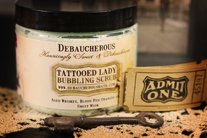 Tattooed Lady Whipped Soap
