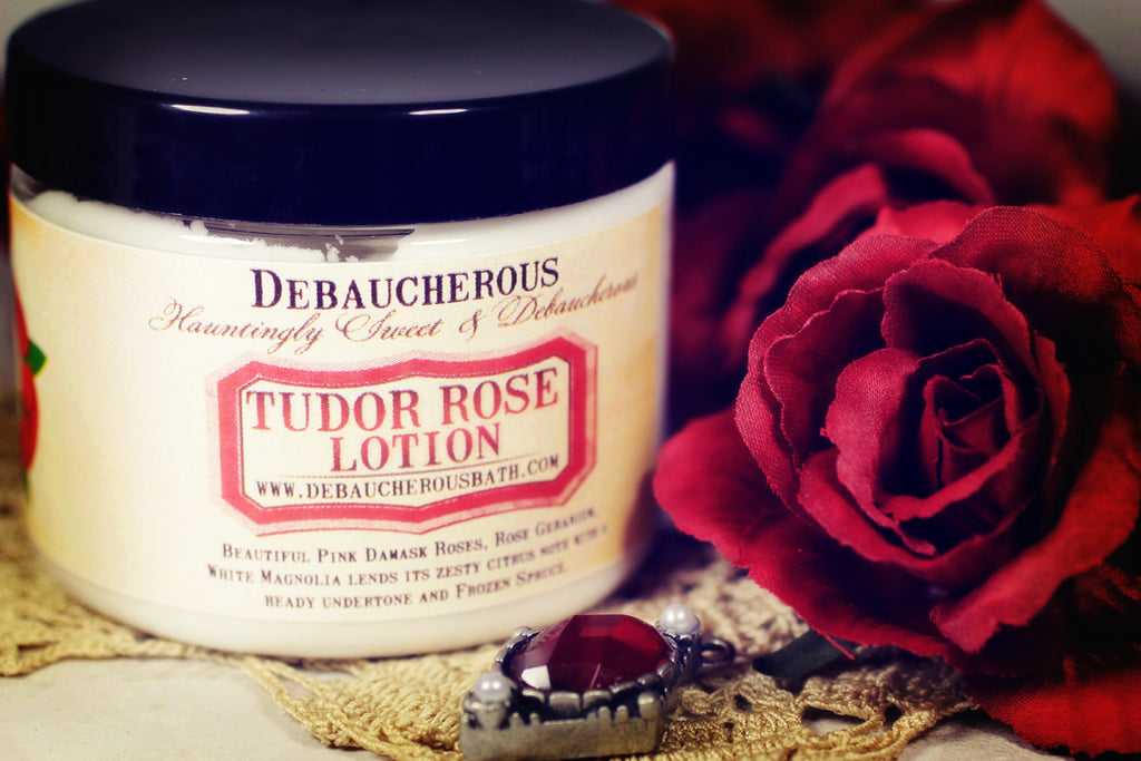 Tudor Rose Lotion