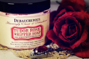Tudor Rose Whipped Soap