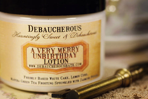 A Very Merry UnBirthday Lotion - Debaucherous Bath