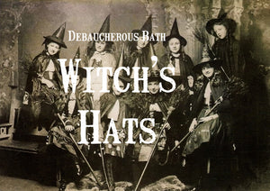 Witch's Hats Whipped Soap