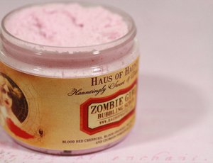 Zombie Girl Whipped Soap