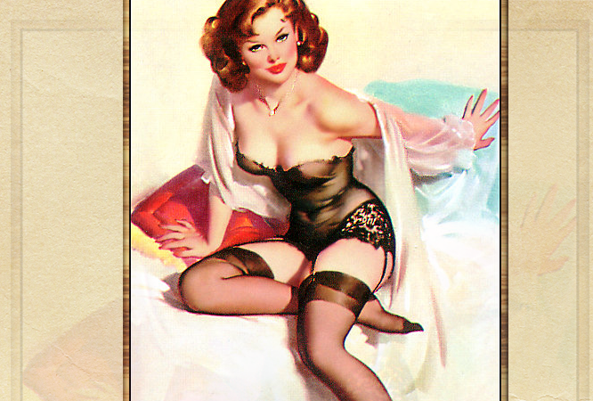 Pin Up Girl Whipped Soap