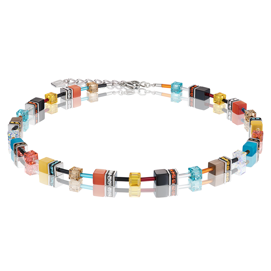 Collier GeoCUBE® multicolore daylight fresh