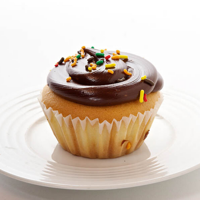 Fudge Cupcake - Bovella's Cafe
