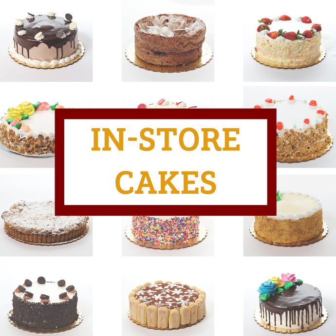 In-Store Cakes For Pick Up - Bovella's Cafe