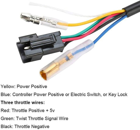 lock throttle wiring cable function and order