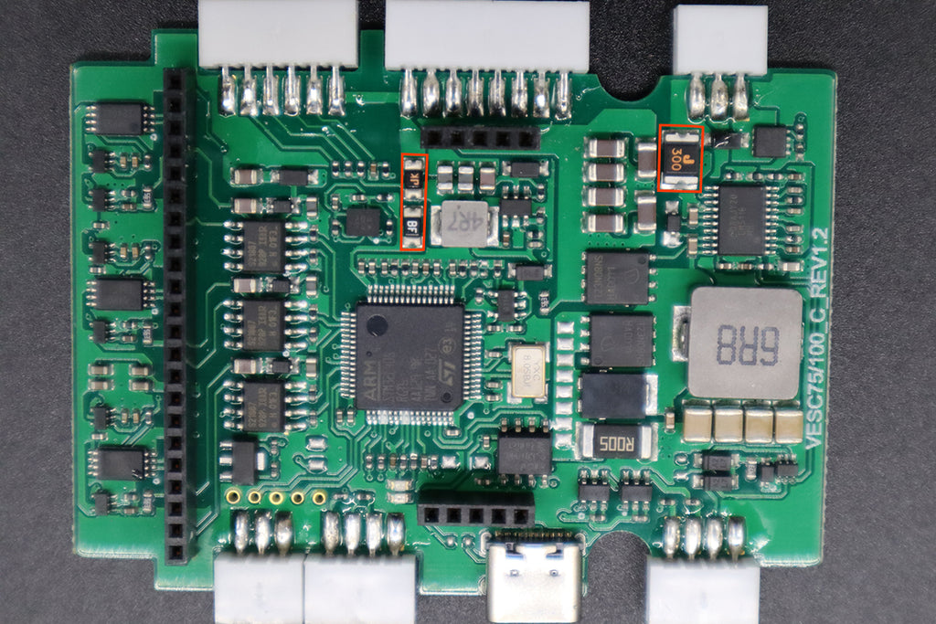 Spintend single ubox use recovery resistor to protect circuits