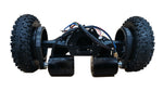 8'' Pneumatic All Terrian Tire Kit with 11'' truck and two 2800W belt motor for DIY skateboard